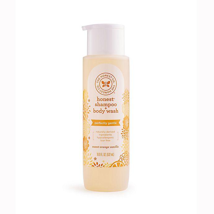 Alternate image 1 for The Honest Company® 18 oz. Shampoo & Body Wash in Orange