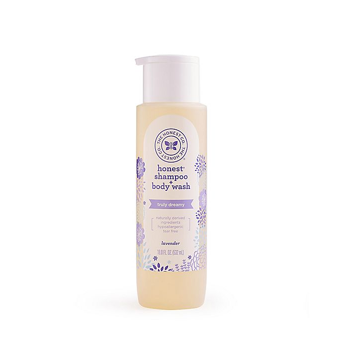 Alternate image 1 for The Honest Company® 18 oz. Shampoo & Body Wash in Lavender