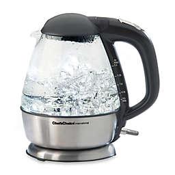 Chef'sChoice® International 1.5-Quart Cordless Electric Glass Kettle