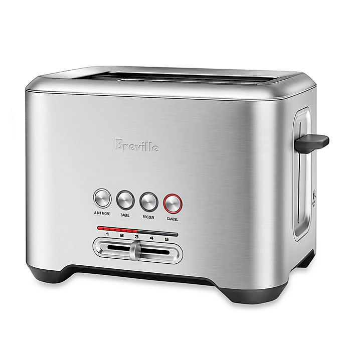 Alternate image 1 for Breville® Bit More™ 2-Slice Toaster