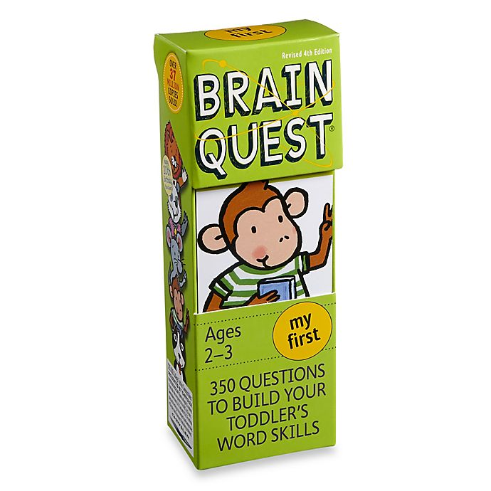 Alternate image 1 for Brain Quest My First Question and Answer Game
