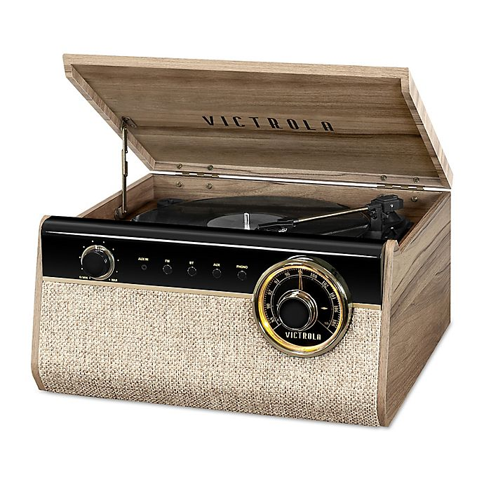 Alternate image 1 for Victrola™ 4-in-1 Austin Bluetooth Record Player with 3-Speed Turntable in Walnut