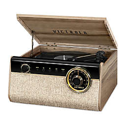 Victrola™ 4-in-1 Austin Bluetooth Record Player with 3-Speed Turntable in Walnut