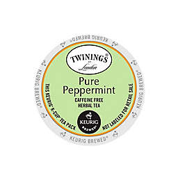 Twinings of London® Pure Peppermint Herbal Tea Keurig® K-Cup® Pods 18-Count