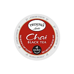 Twinings of London® Chai Black Tea Keurig® K-Cup® Pods 18-Count