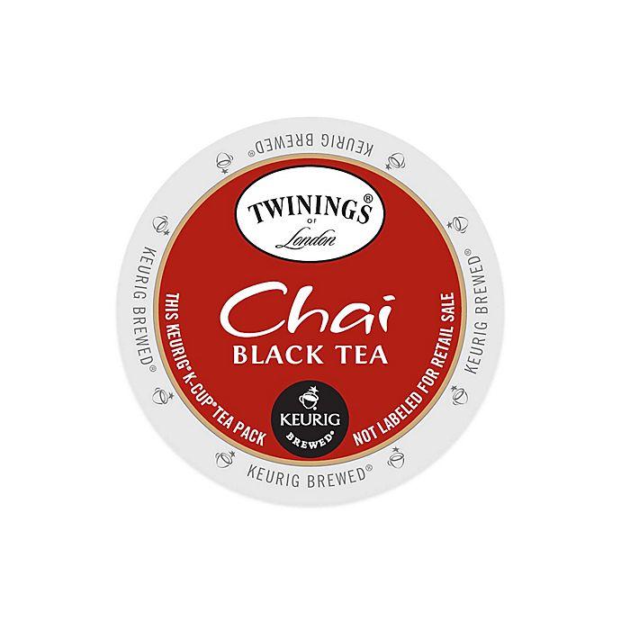 Alternate image 1 for Keurig® K-Cup® Pack 18-Count Twinings of London® Chai Black Tea