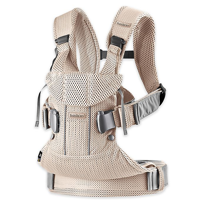 Alternate image 1 for BABYBJÖRN® 2019 Multi-Position Baby Carrier One in Pearly Pink