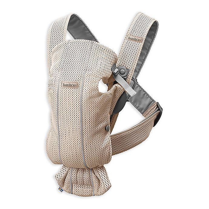 Alternate image 1 for BABYBJÖRN® Baby Carrier Mini 3D Mesh
