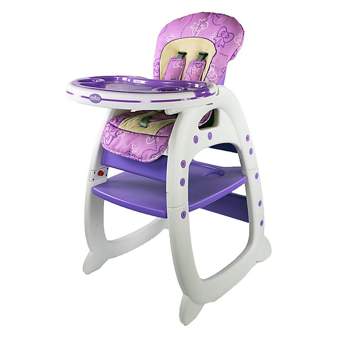 Alternate image 1 for Evezo Rose Convertible High Chair