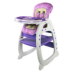 a8f85acddabe Compare. Evezo Rose Convertible High Chair