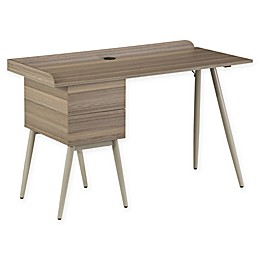 Techni Mobili Modern Space Saver Desk in Natural