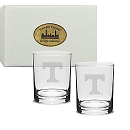 University of Tennessee 14 oz. Traditional Double Old Fashion Glasses (Set of 2)