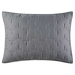 O&O by Olivia & Oliver™ Lofty Stitch Standard Pillow Sham in Grey