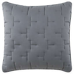 O&O by Olivia & Oliver™ Lofty Stitch European Pillow Sham in Grey