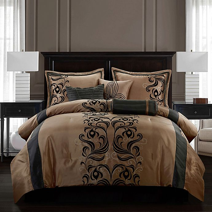 Alternate image 1 for Nanshing Helda Comforter Set
