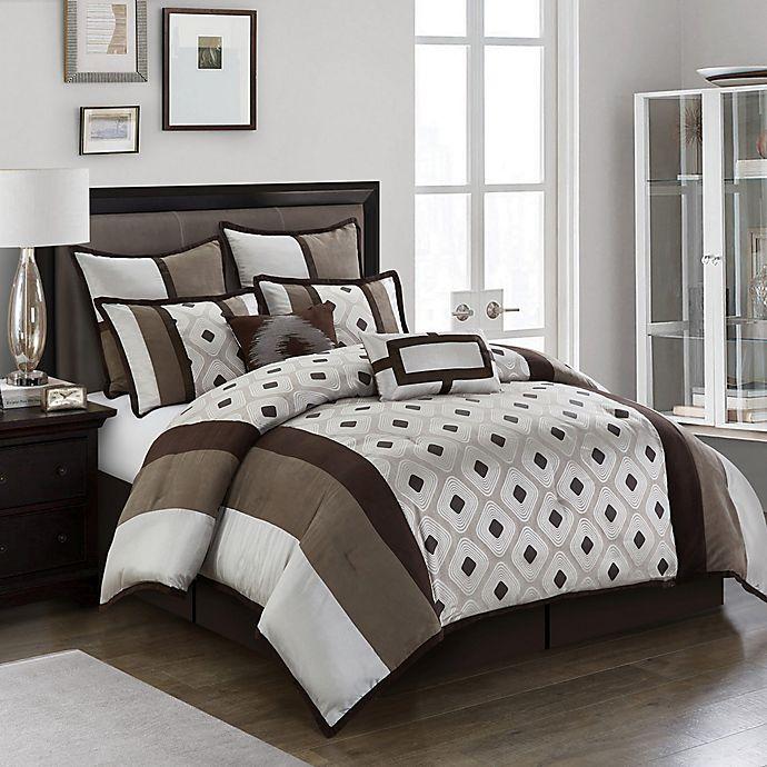 Nanshing Grayson 8-Piece Reversible Comforter Set - Queen