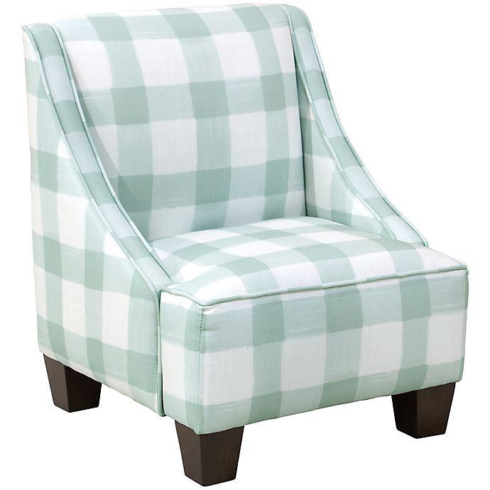 Alternate image 1 for Skyline Furniture Bridget Kids Arm Chair in Blue