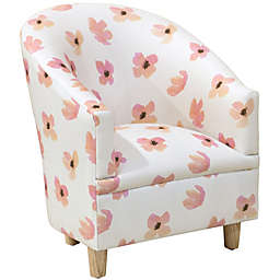 Skyline Furniture Lina Kids Chair in Pink
