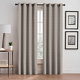Glam 84-Inch Grommet Room Darkening Window Curtain Panel in Gold