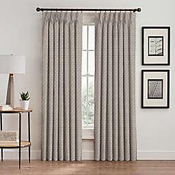 Glam Pinch Pleat Room Darkening Window Curtain Panel