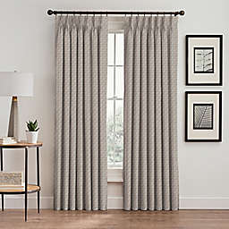 Glam Pinch Pleat Room Darkening Window Curtain Panel