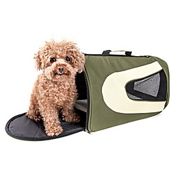 Airline Approved Sporty Folding Zippered Mesh Pet Carriers
