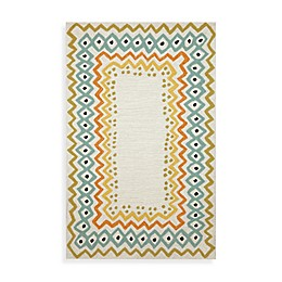Trans Ocean Ethnic Indoor/Outdoor Rug in Pastel