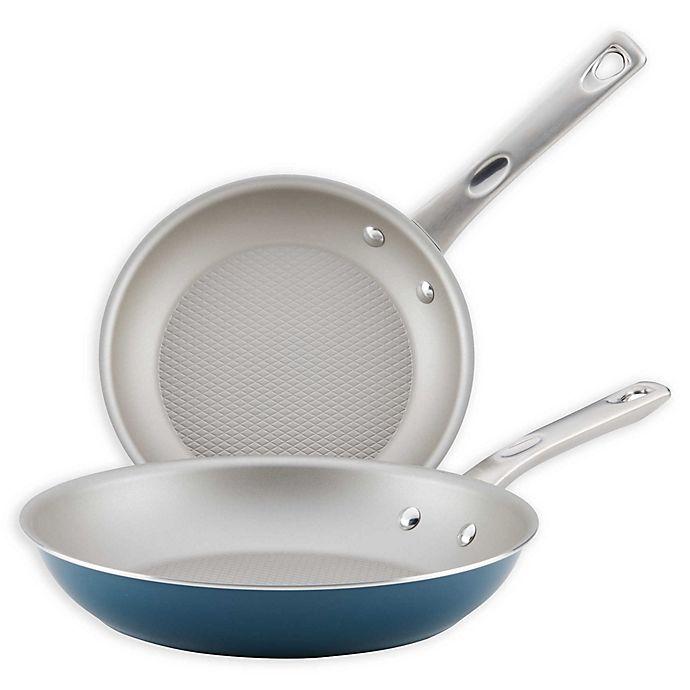 Alternate image 1 for Ayesha Curry™ Porcelain Enamel Nonstick 2-Piece Skillet Set