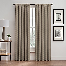 Cascade Rod Pocket/Back Tab Window Curtain Panel