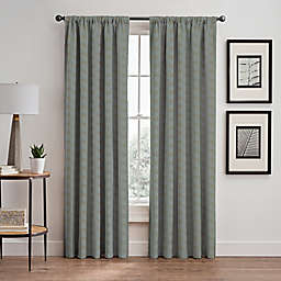 Cascade Rod Pocket/Back Tab Window Curtain Panel