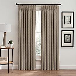 Cascade Pinch Pleat Window Curtain Panel