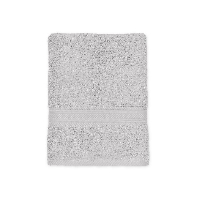 Alternate image 1 for Signature Bath Towel in Silver