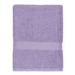 Signature Bath Sheet in Plum