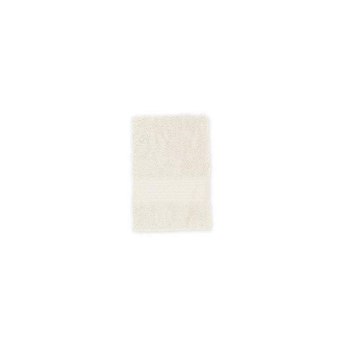 Alternate image 1 for Signature Washcloth in Ivory