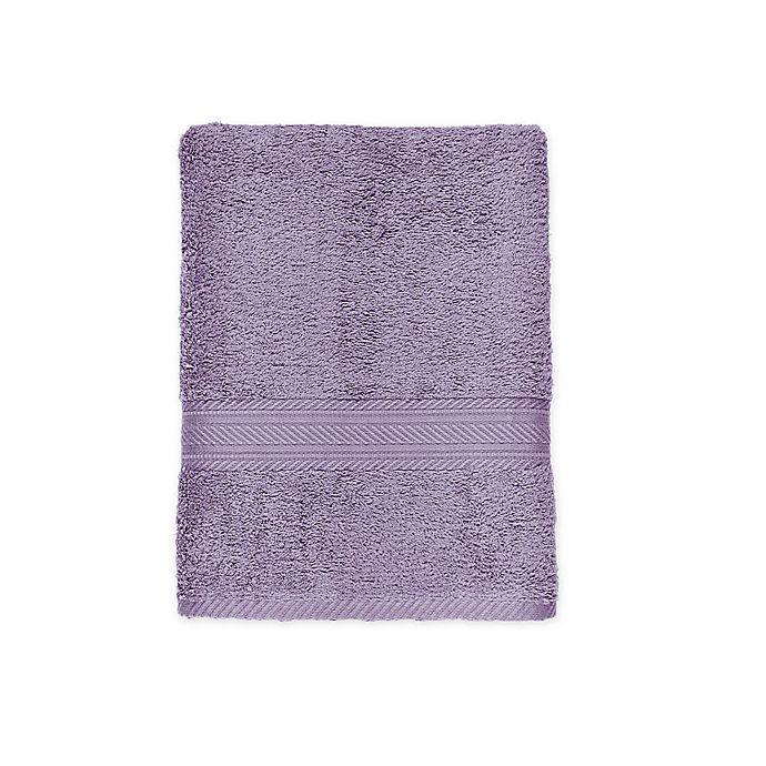 Alternate image 1 for Signature Bath Towel in Plum