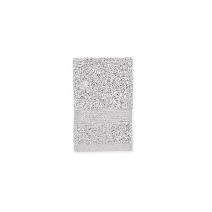 Alternate image 1 for Signature Hand Towel in Silver