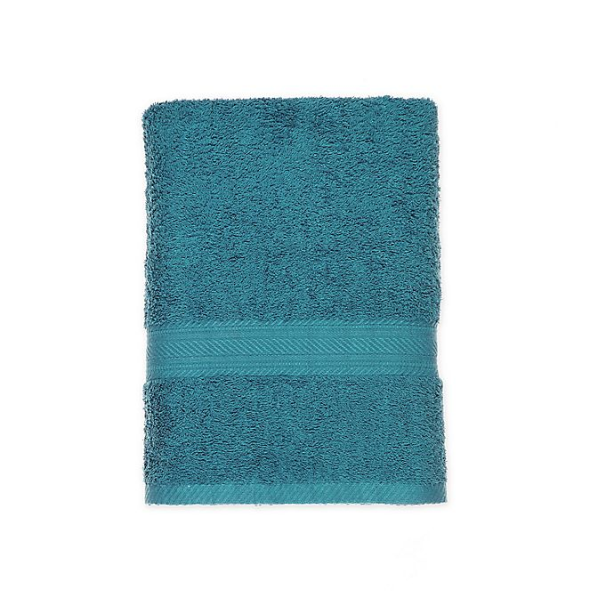 Alternate image 1 for Signature Bath Towel in Teal