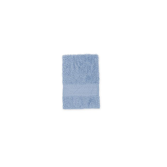 Alternate image 1 for Signature Washcloth in Blue