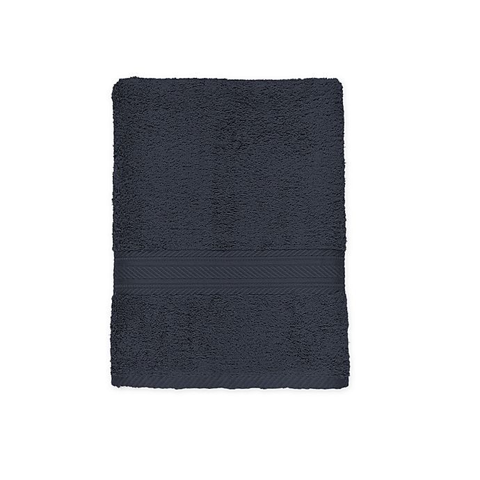 Alternate image 1 for Signature Bath Towel in Charcoal