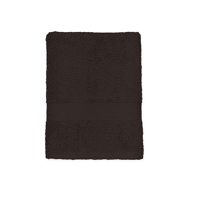 Alternate image 1 for Signature Bath Towel in Chocolate