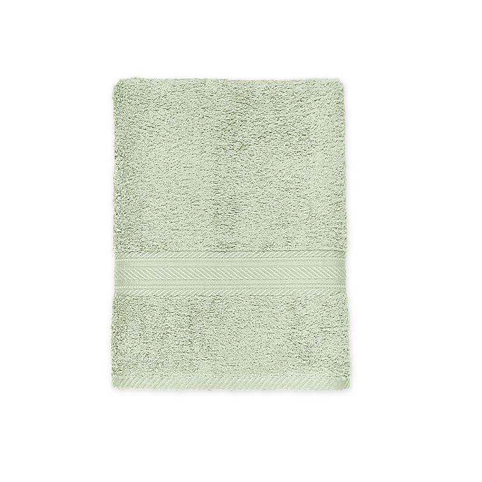 Alternate image 1 for Signature Bath Towel in Green