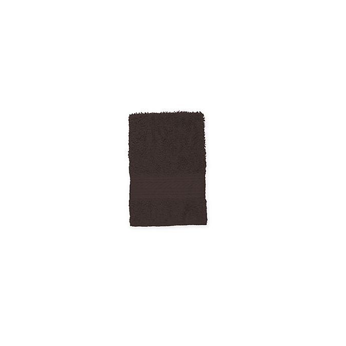 Alternate image 1 for Signature Washcloth in Chocolate