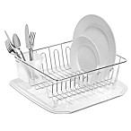 SALT™ Small Dish Drainer in Chrome