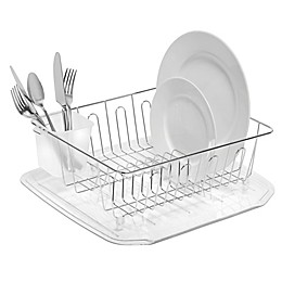 SALT™ Small Dish Drainer in Silver
