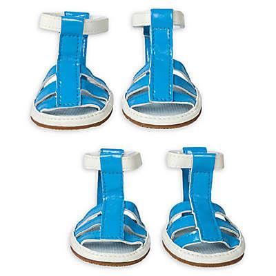 Waterproof Pet Sandals in (Set of 4)