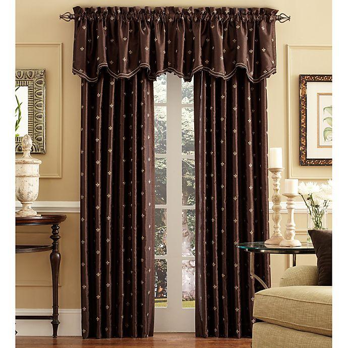 Alternate image 1 for Celeste Rod Pocket/Back Tab Window Curtain Panels