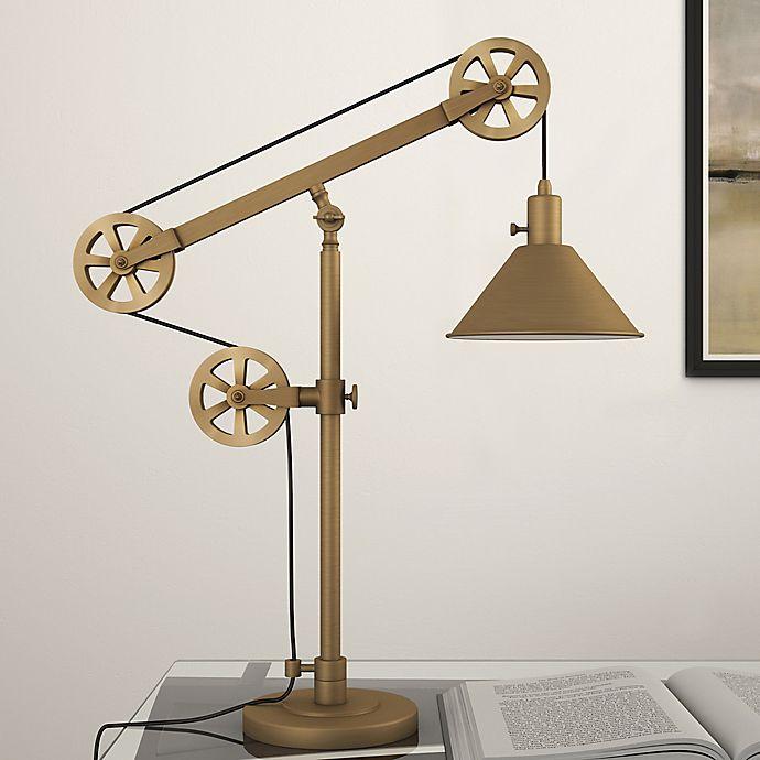 Alternate image 1 for Hudson&Canal Descartes Table Lamp