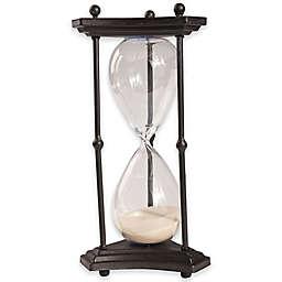 A&B Home Granada 60-Minute Hourglass in Brown
