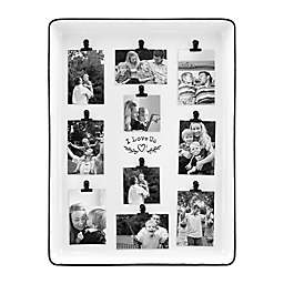 Bee & Willow™ Home I Love Us 10-Clip Collage Picture Frame in White Enamel