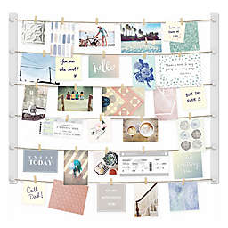 Umbra® Hangup 30-Clip Collage Display in White